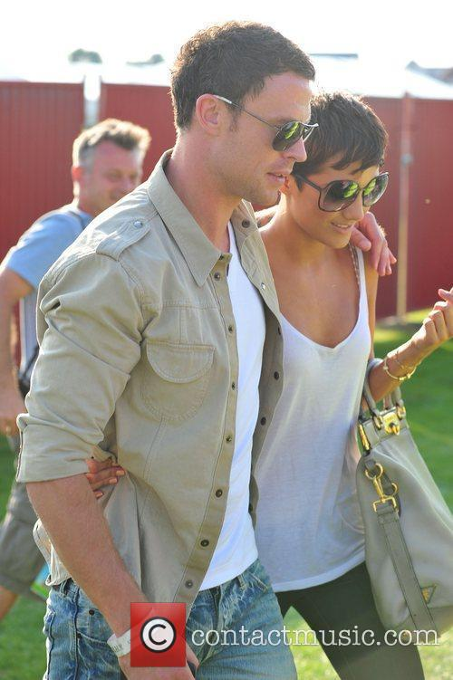 Frankie Sandford and Wayne Bridge 5