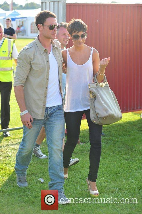 Frankie Sandford and Wayne Bridge 7