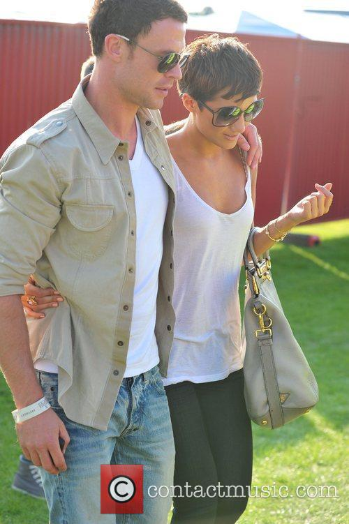 Frankie Sandford and Wayne Bridge 8
