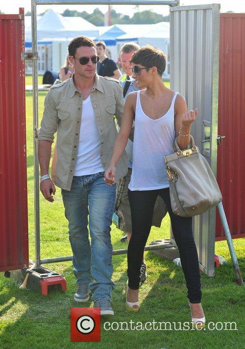 Frankie Sandford and Wayne Bridge 6