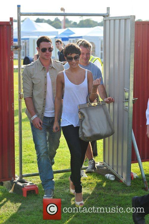 Frankie Sandford and Wayne Bridge 10