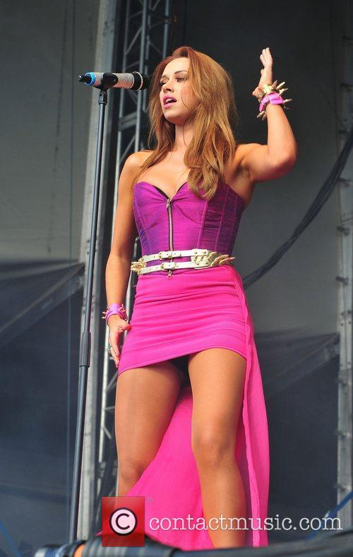 The Saturdays Chester Rocks 2011 at Chester Racecourse...