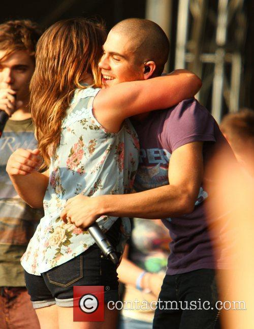The Wanted Chester Rocks 2011 at Chester Racecourse...
