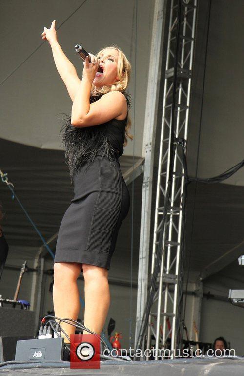Heidi Range of the Sugababes Chester Rocks 2011...