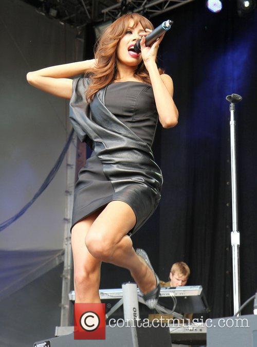 Jade Ewen of the Sugababes Chester Rocks 2011...