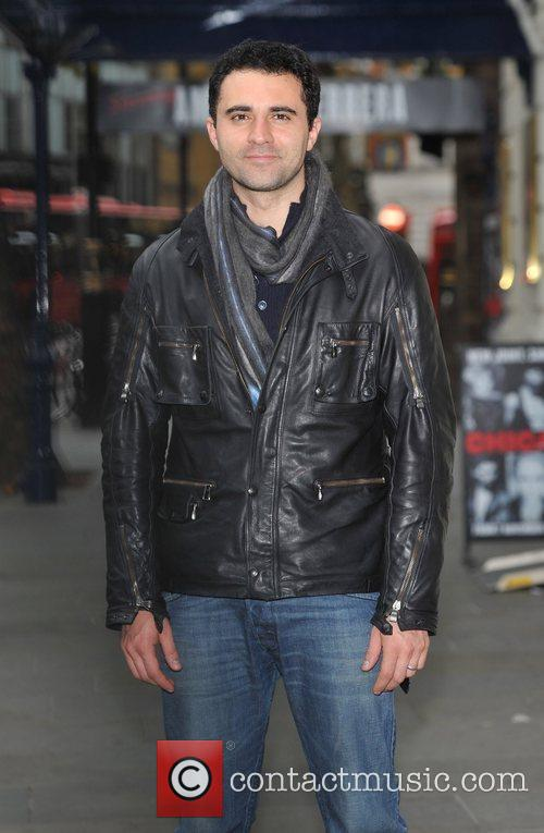 Darius Campbell Chicago - photocall held outside the...