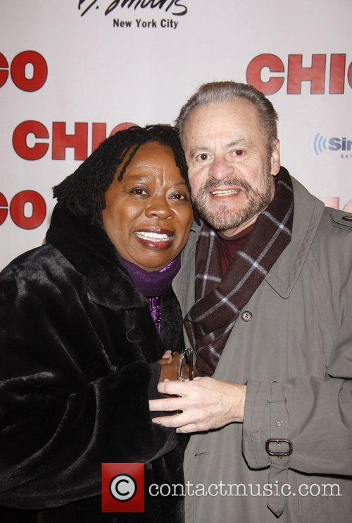 Carol Woods and Barry Weissler 'Chicago The Musical'...