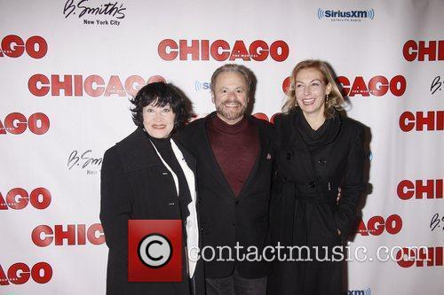 Chita Rivera, Barry Weissler and Ute Lemper 'Chicago...