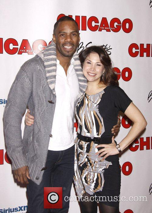 Colman Domingo and Bianca Marroquin 'Chicago The Musical'...
