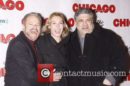 Barry Weissler, Ute Lemper and Vincent Pastore 'Chicago...