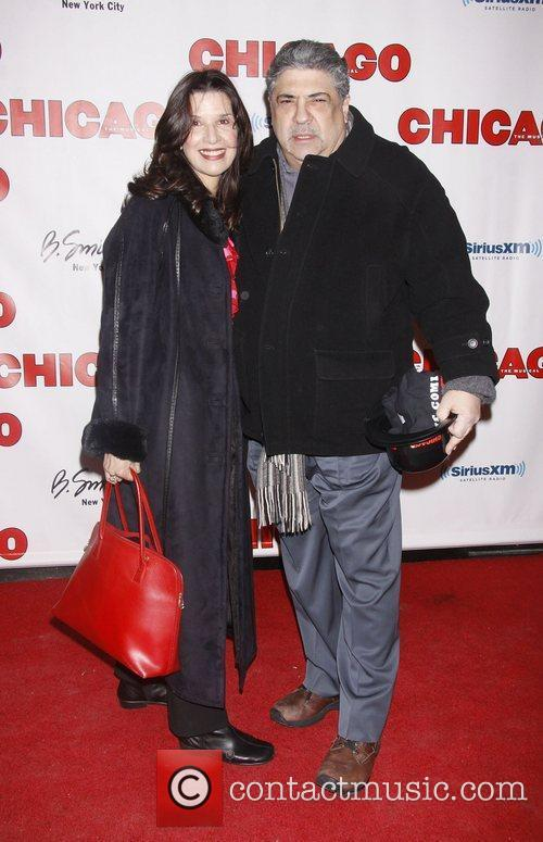 Vincent Pastore and Kathy 'Chicago The Musical' Fan...
