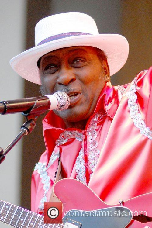 Eddy The Chief Clearwater  performs at the...
