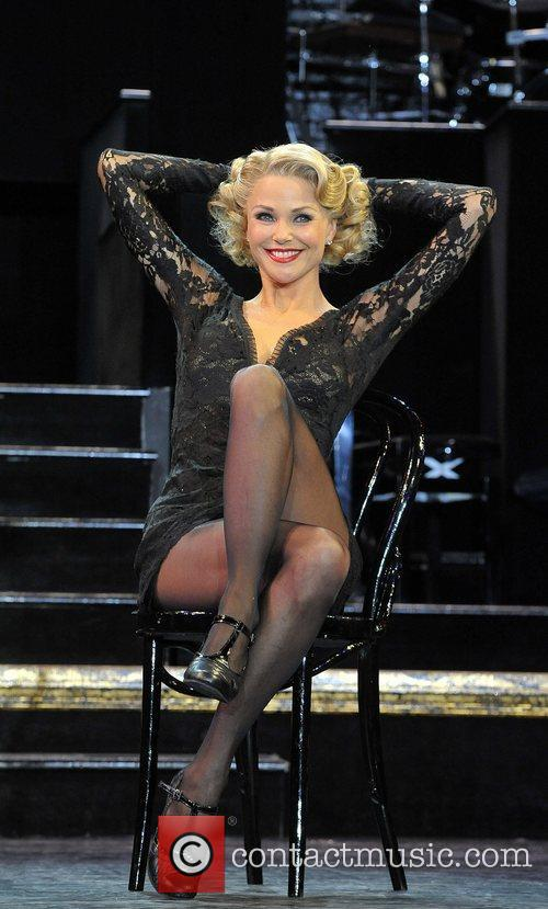Christie Brinkley as Roxie Hart  Chicago photocall...