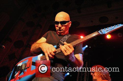 Chickenfoot performs live in concert at the Metro...