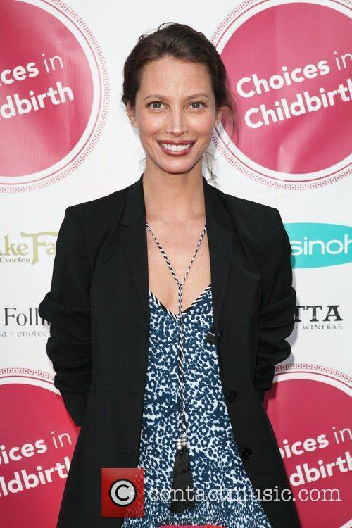 Christy Turlington Burns 2011 Concert For A Healthy...
