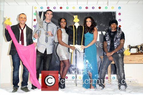 Alexandra Burke, Chipmunk, Kevin Pietersen and Tamara Ecclestone 2