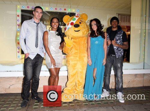 Alexandra Burke, Chipmunk, Kevin Pietersen and Tamara Ecclestone 3