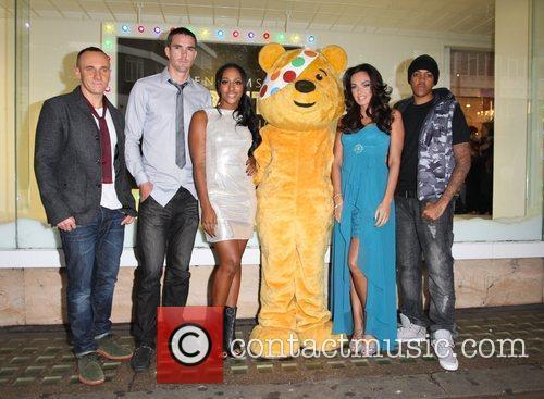 Alexandra Burke, Chipmunk, Kevin Pietersen and Tamara Ecclestone 7
