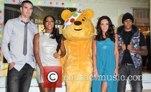 Alexandra Burke, Chipmunk, Kevin Pietersen and Tamara Ecclestone 6