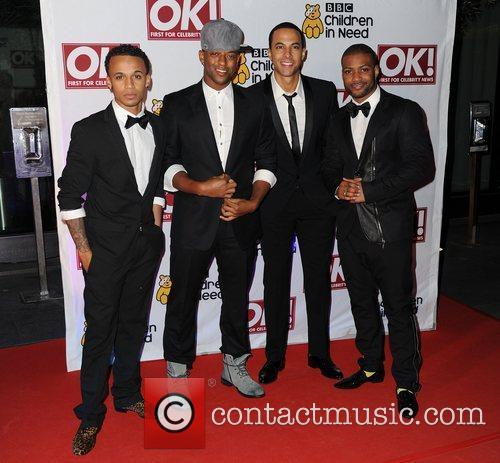 JLS,  at the BBC Children in Need...