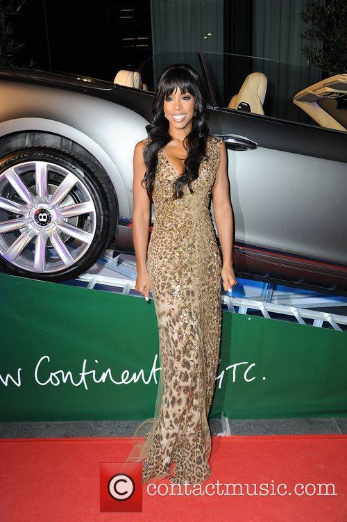 Kelly Rowland ,  at the BBC Children...