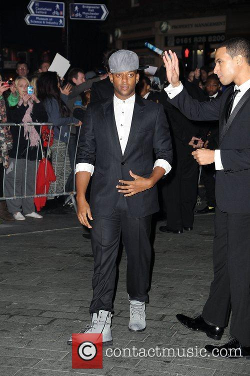Oritse Williams of JLS,  at the BBC...