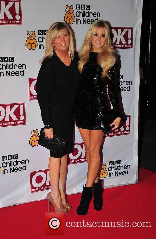 Candy McCulloch with her mother Lorraine BBC Children...