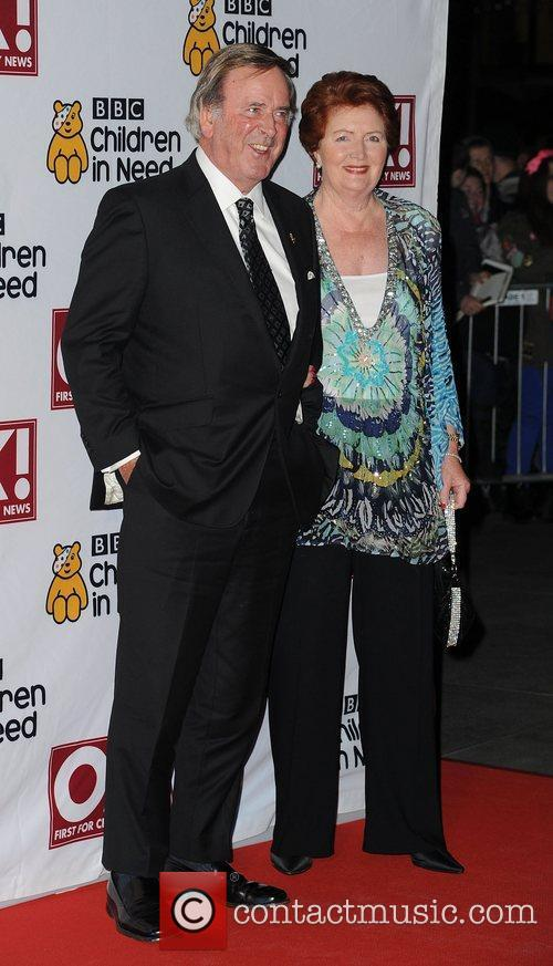 Terry Wogan and Lady Helen Wogan,  at...