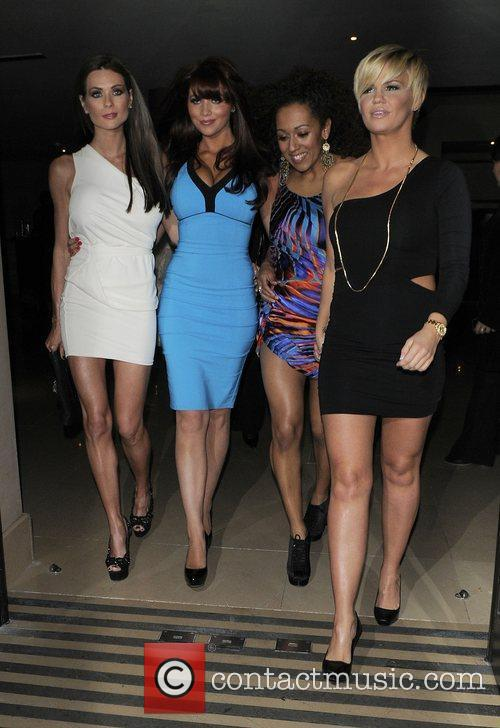 Amy Childs, Kerry Katona, Danielle Brown and a...