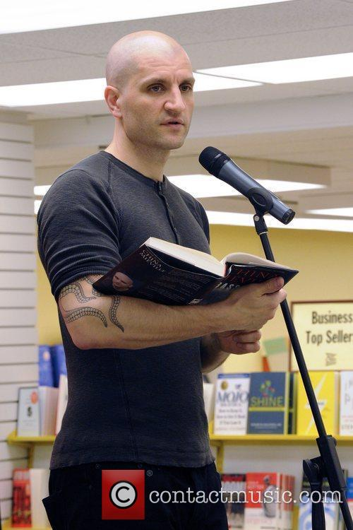 China Mieville book reading and signing for 'Embassytown'...