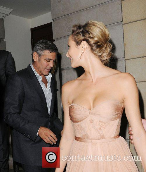 George Clooney and Stacy Keibler 8