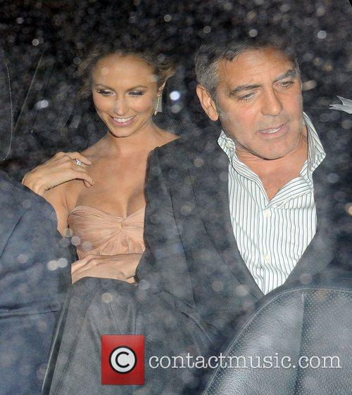 George Clooney and Stacy Keibler 7