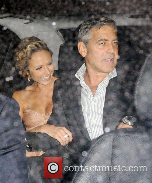 George Clooney and Stacy Keibler 10