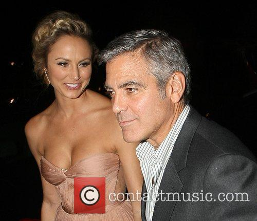 George Clooney and Stacy Keibler 12