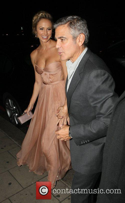 George Clooney and Stacy Keibler 11