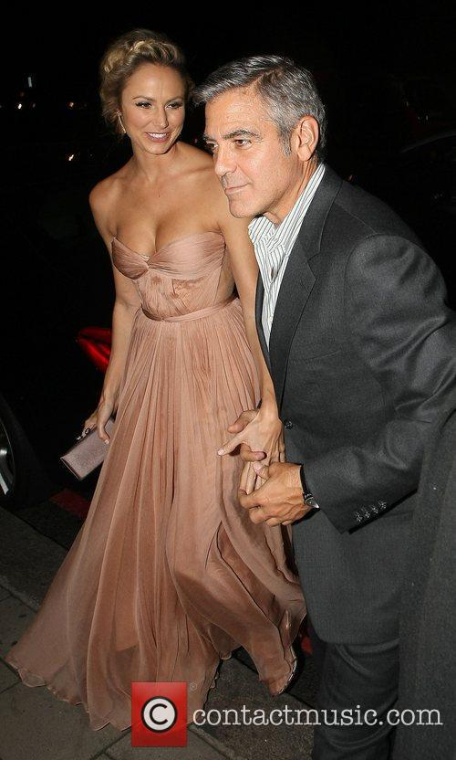 George Clooney and Stacy Keibler 13