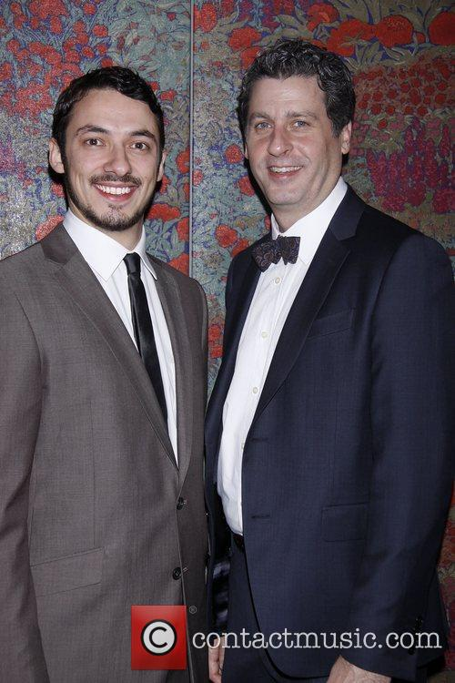 Stephen Pucci and Gary Wilmes Opening night after...