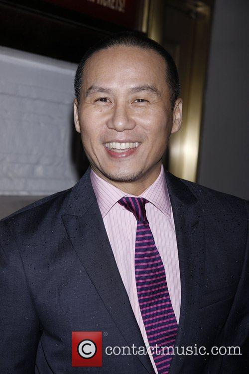 BD Wong Opening night of the Broadway production...