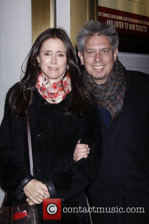 Julie Taymor and Elliot Goldenthal Opening night of...