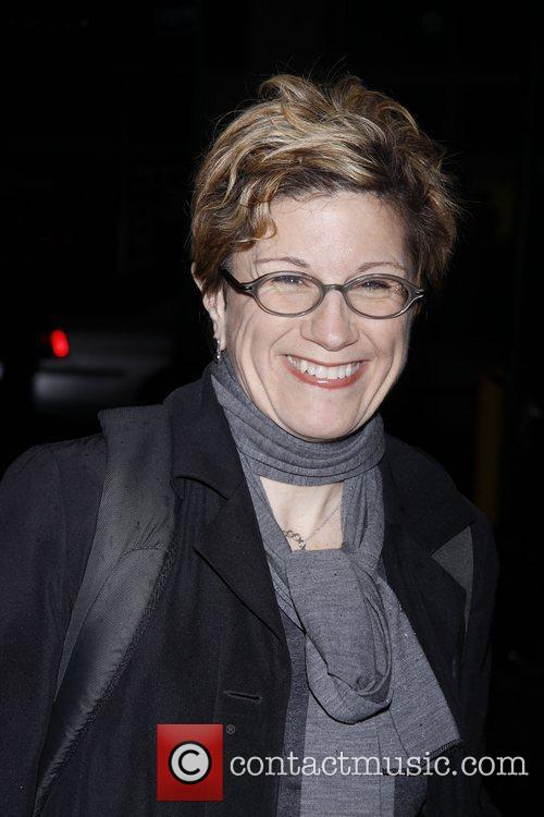 Lisa Kron Opening night of the Broadway production...