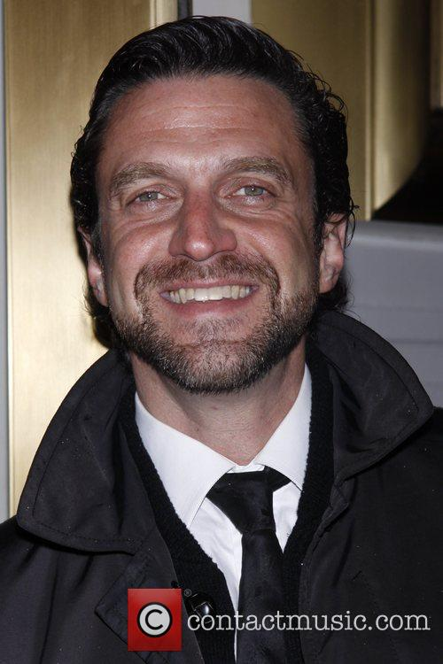 Raul Esparza Opening night of the Broadway production...