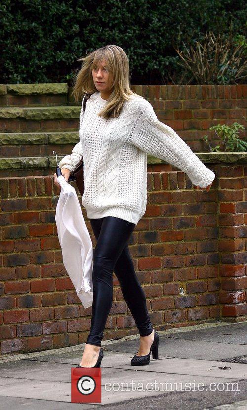 Chloe Madeley leaves her home London, England