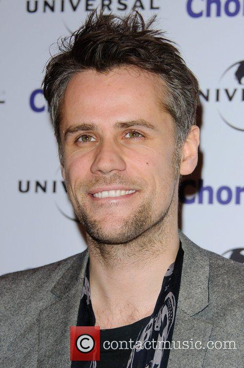 Richard Bacon Chortle Comedy Awards Arrivals at Floridita...