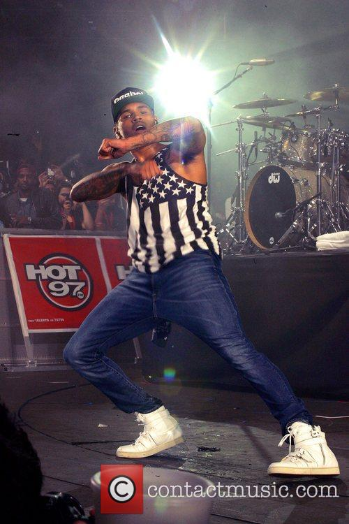 Chris Brown and Hot 97 Summer Jam 3