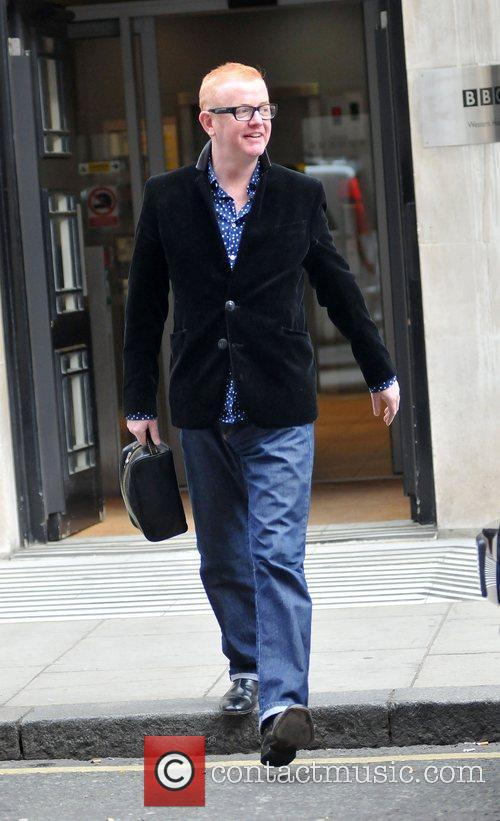 Outside the BBC Radio 2 studios