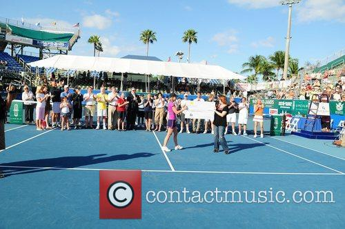 General view during the Chris Evert/Raymond James Pro-Celebrity...