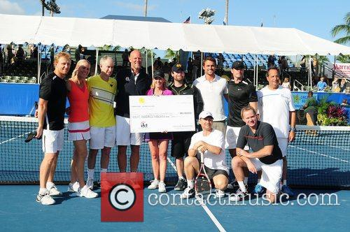 Kevin Mckidd, Chris Evert, Christian Slater, David Cook, John Mcenroe, Jon Lovitz, Murphy Jensen and Scott Foley