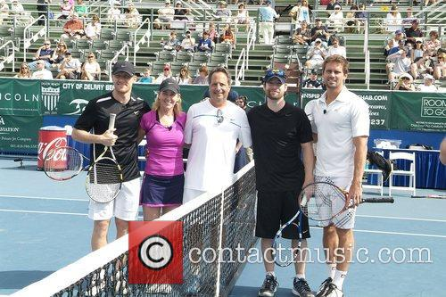 Kevin Mckidd, Chris Evert, David Cook and Jon Lovitz 6