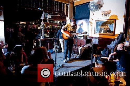 Chris Martin of Coldplay performs at Boogaloo.