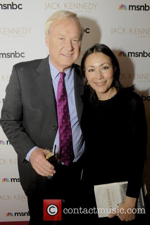 Chris Matthews host of MSNBC's 'Hardball' attends the...
